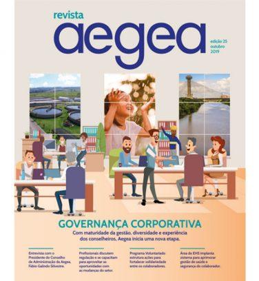 Revista Aegea Edição 25 | Outubro 2019
